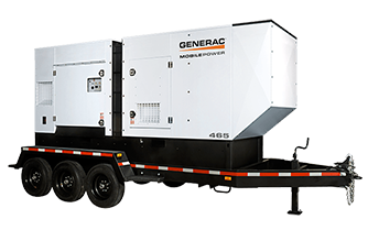 Trailer Mounted Generator Set